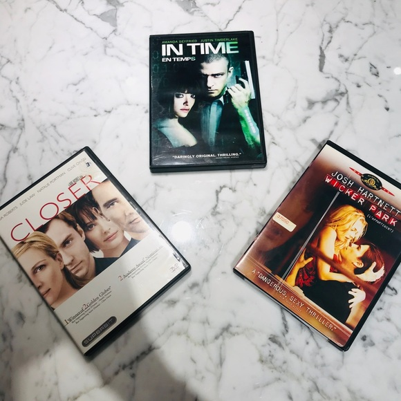 Lot of Sexy Thriller DVD's